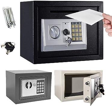 Home Office - Caja de Seguridad de Acero Digital, ignífuga, Segura ...