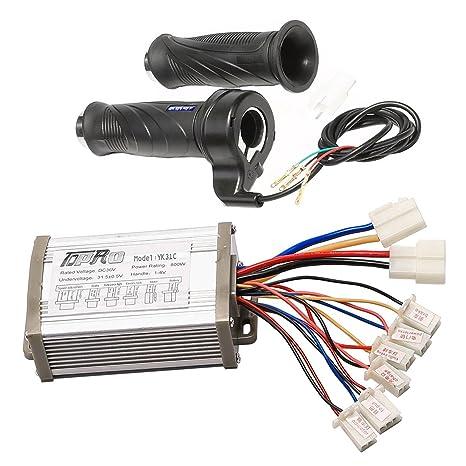 Amazon com: WPHMOTO 36V 800W Brush Speed Motor Controller