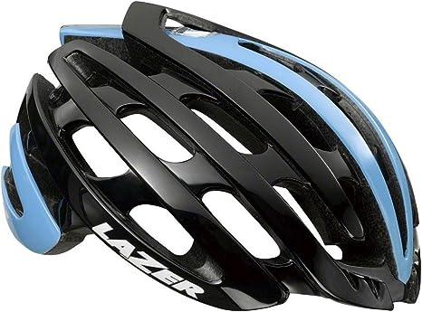 Matt Blue Lazer Summer Helmet Small