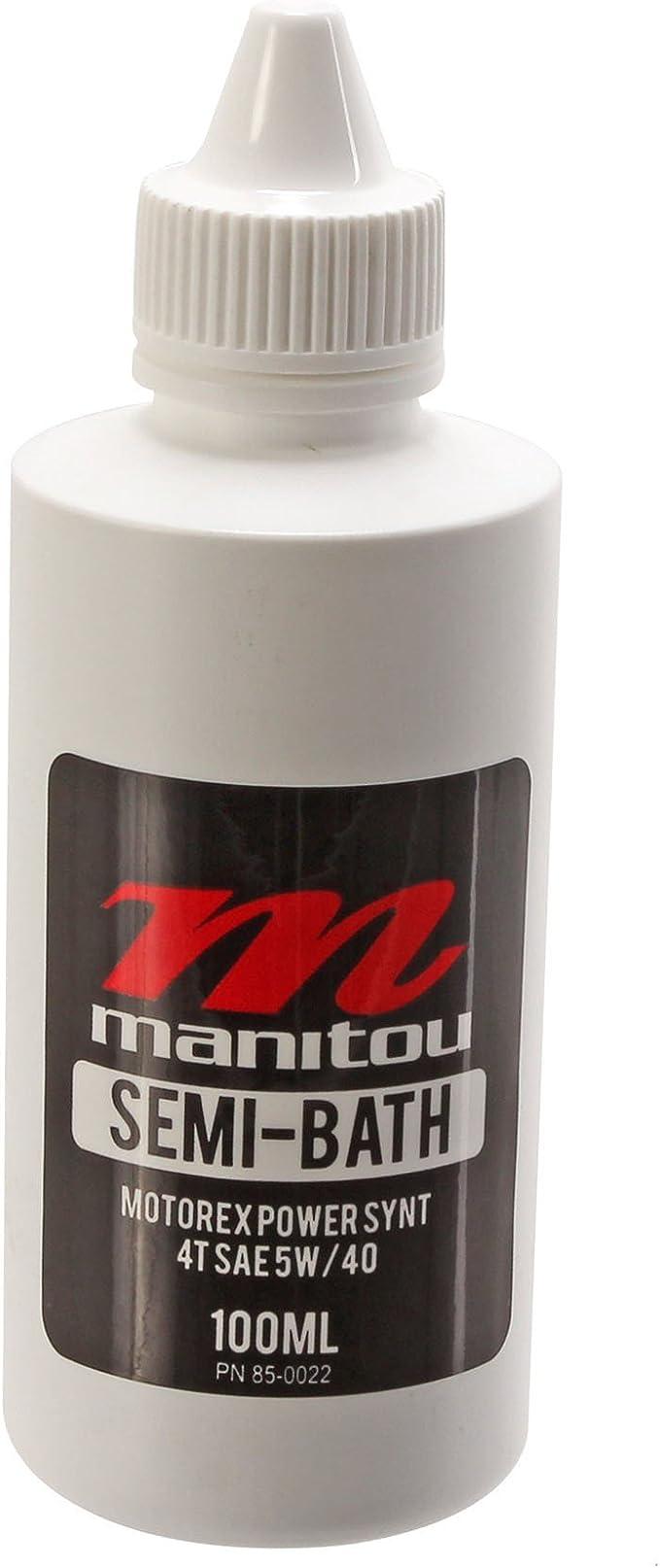 Manitou 5Wt Aceite de Horquilla 3.5oz Semi Bath Oil (Motorex): Amazon.es: Coche y moto