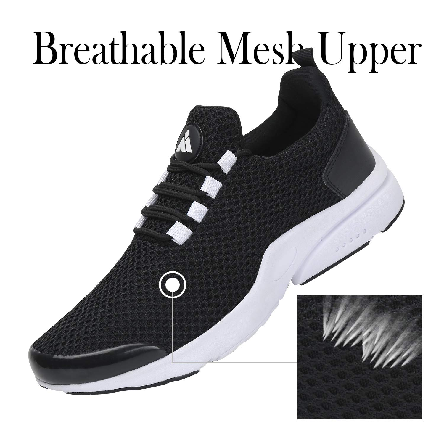 Mishansha Men Women Fashion Sneakers Breathable Mesh Comfortable Lightweight Walking Shoes SlipOn