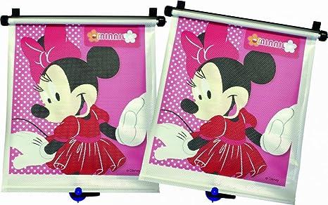 Disney Baby Y10071MP Pack de 2 protectores solares para ventanilla dise/ño Minnie Mouse