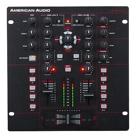 American Audio 10 MXR mesa de mezclas 2 canales USB-MIDI XLR ...