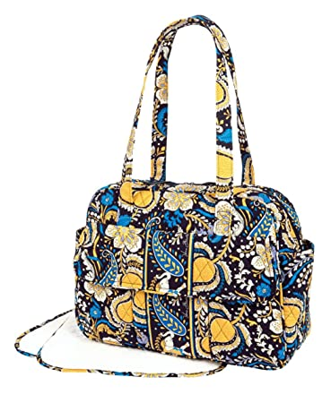 Amazon.com: Vera Bradley – Bolso cambiador, en Ellie azul: Baby