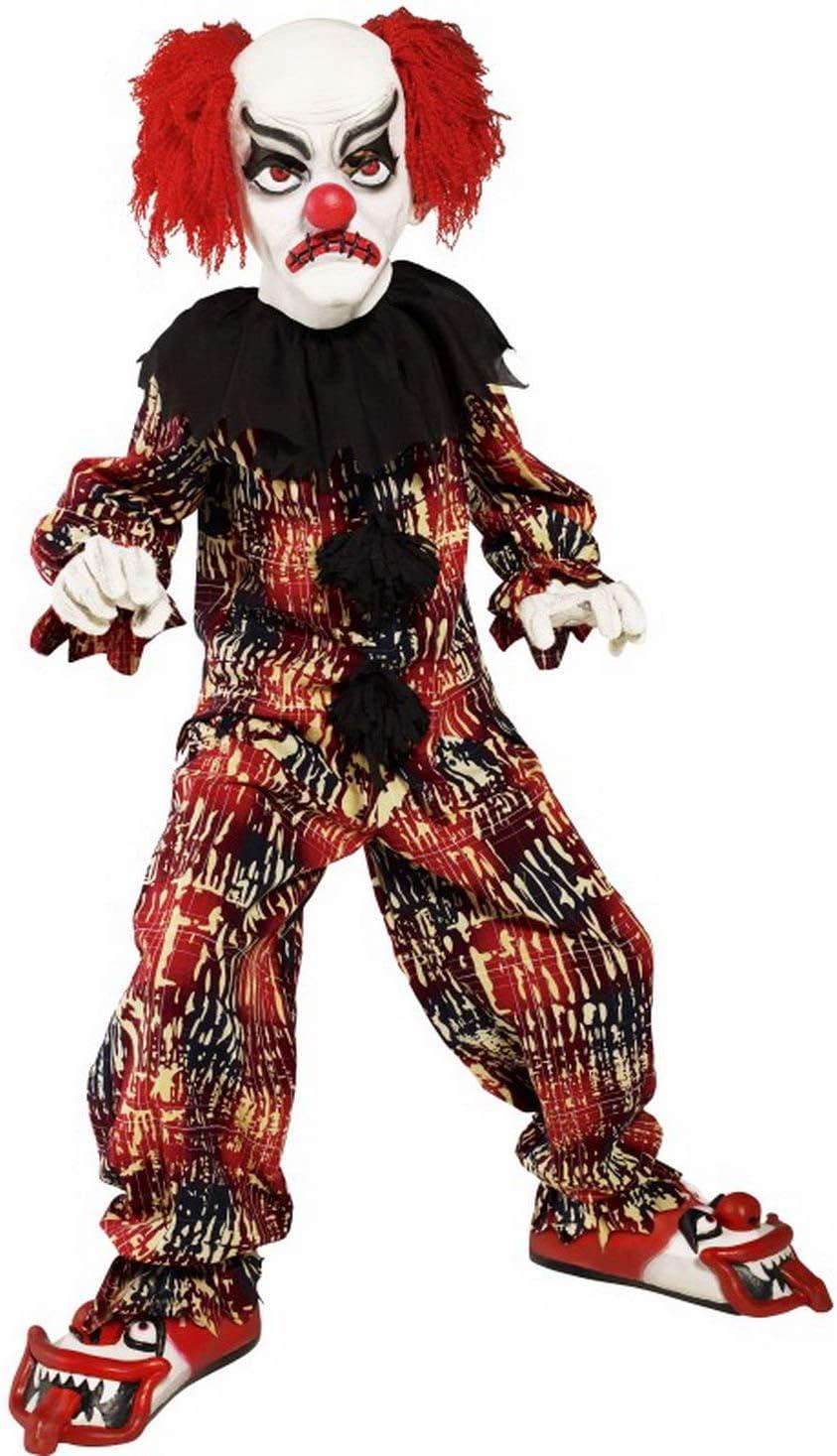 erdbeerclown – Disfraz de Payaso Zombi para niños, Halloween ...