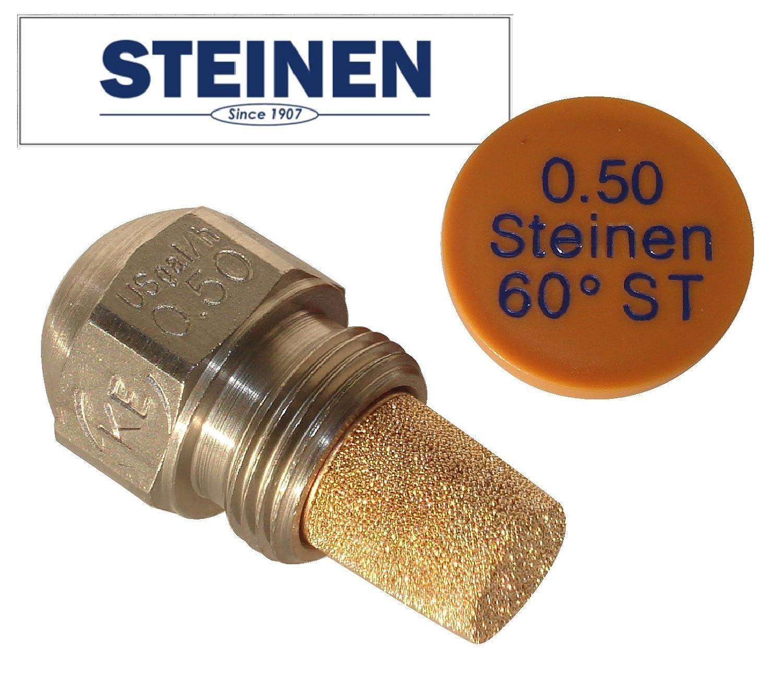 STEINEN Gicleur pour brûleurs à fioul, 0.5 USgal/h, angle de pulvérisation 60°, type ST angle de pulvérisation 60°