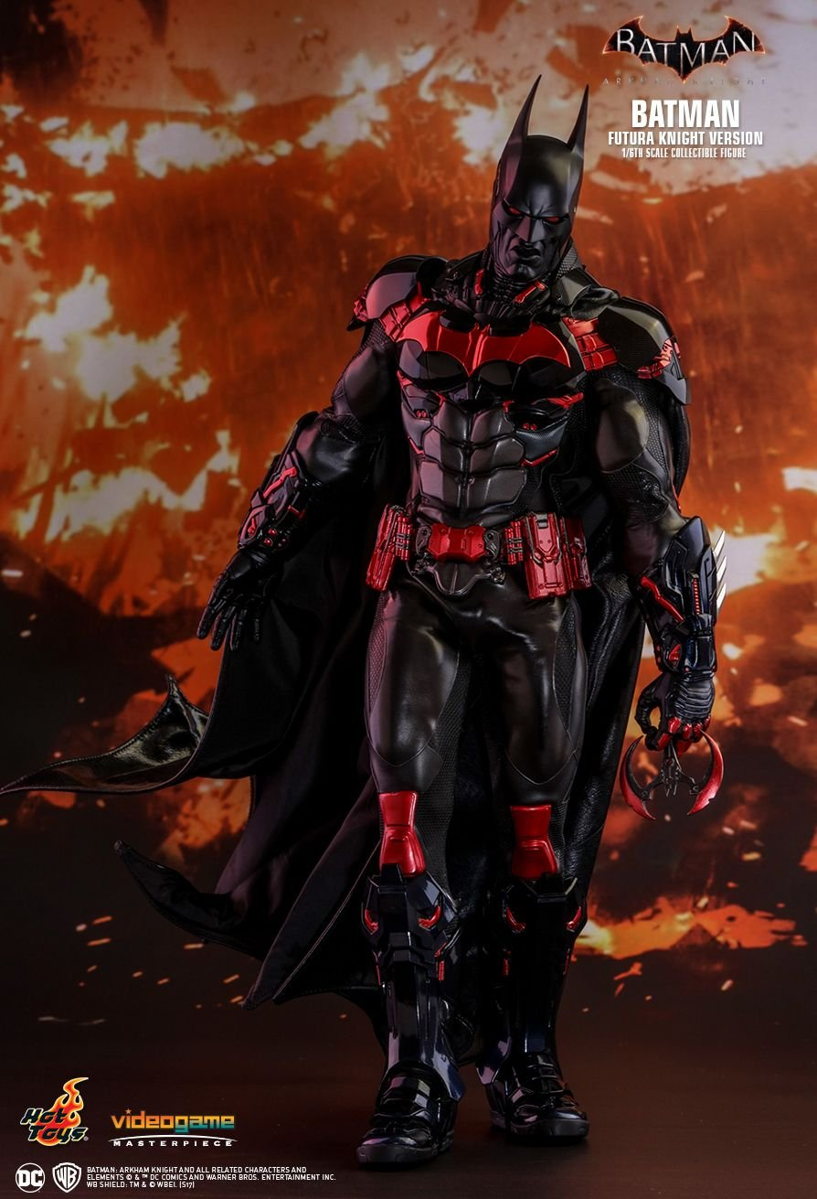 Hot Toys Batman (Futura Knight Version) Sixth Scale Figure by Video Game Masterpiece Series vgm029
