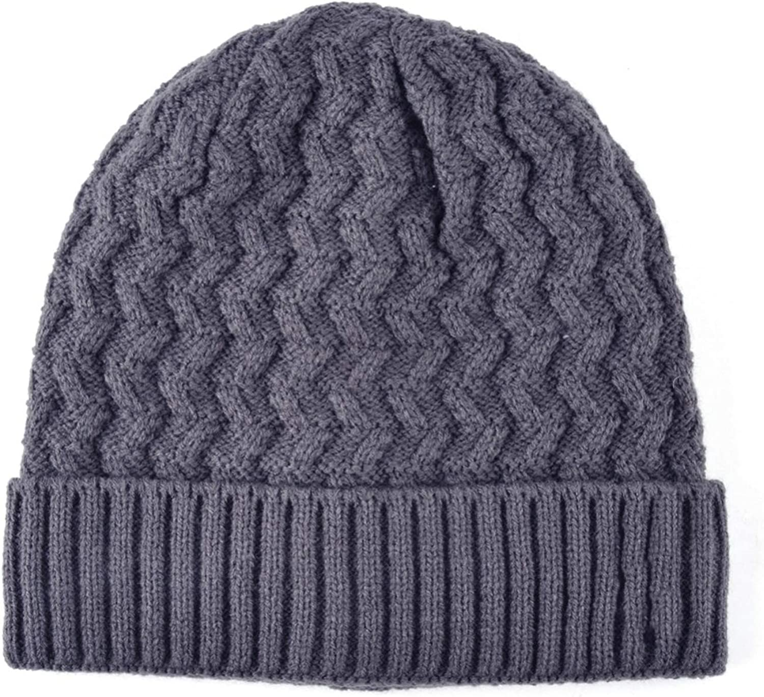 Knitted Hat Men Skullies Beanie Knitting Wool Hats for Boys Beanies Bonnet Warm Touca Masculina Inverno