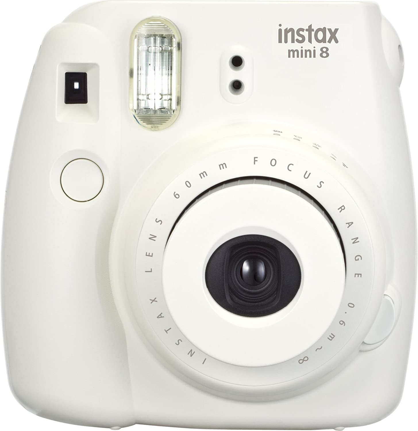 Amazon.com: Fujifilm Instax Mini 8 Instant Film Camera (White ...