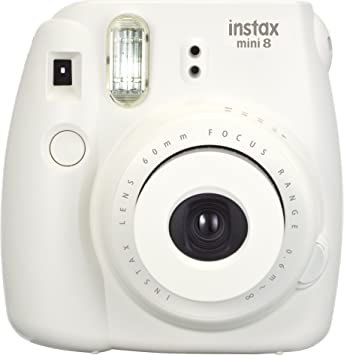 Fujifilm Instax Mini 8 Instant Camera Dreamy White