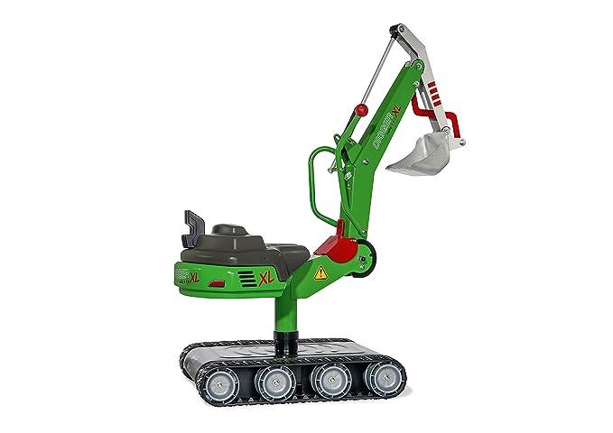 Sandbagger Metall - Kinderbagger Metall zum Draufsitzen - Rolly Toys Bagger