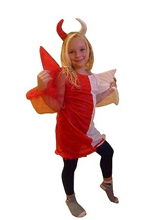 An54 7 10 Jahre Teufel Engel Kostum Halloween Kostum Teufelkostum
