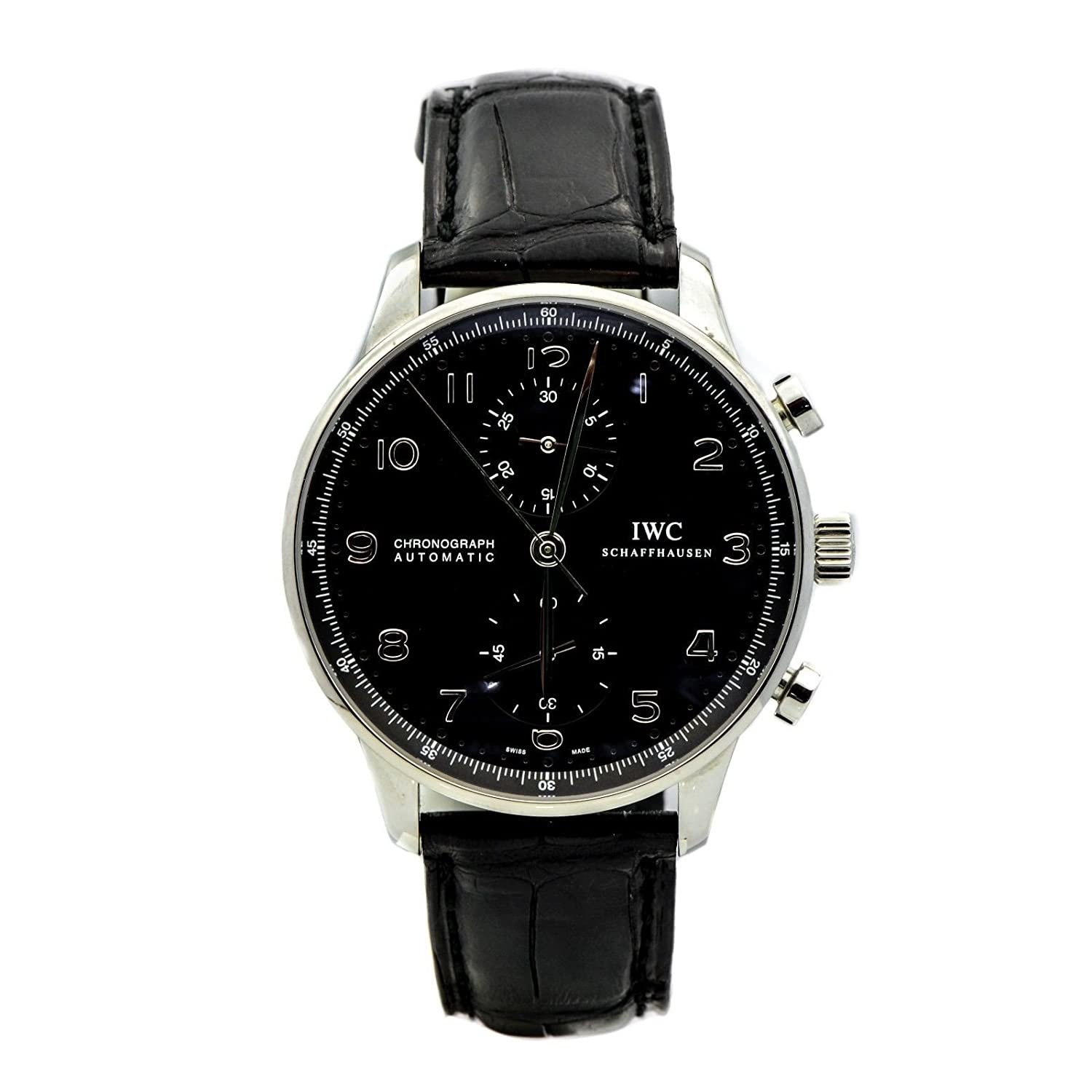 Amazon.com: IWC Portuguese automatic-self-wind mens Watch IW371438  (Certified Pre-owned): IWC: Watches