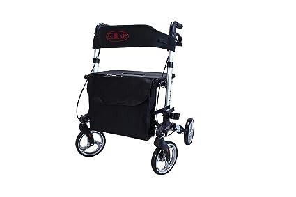 Antar Premium - Juego de andador de aluminio, ligero de viaje con ...