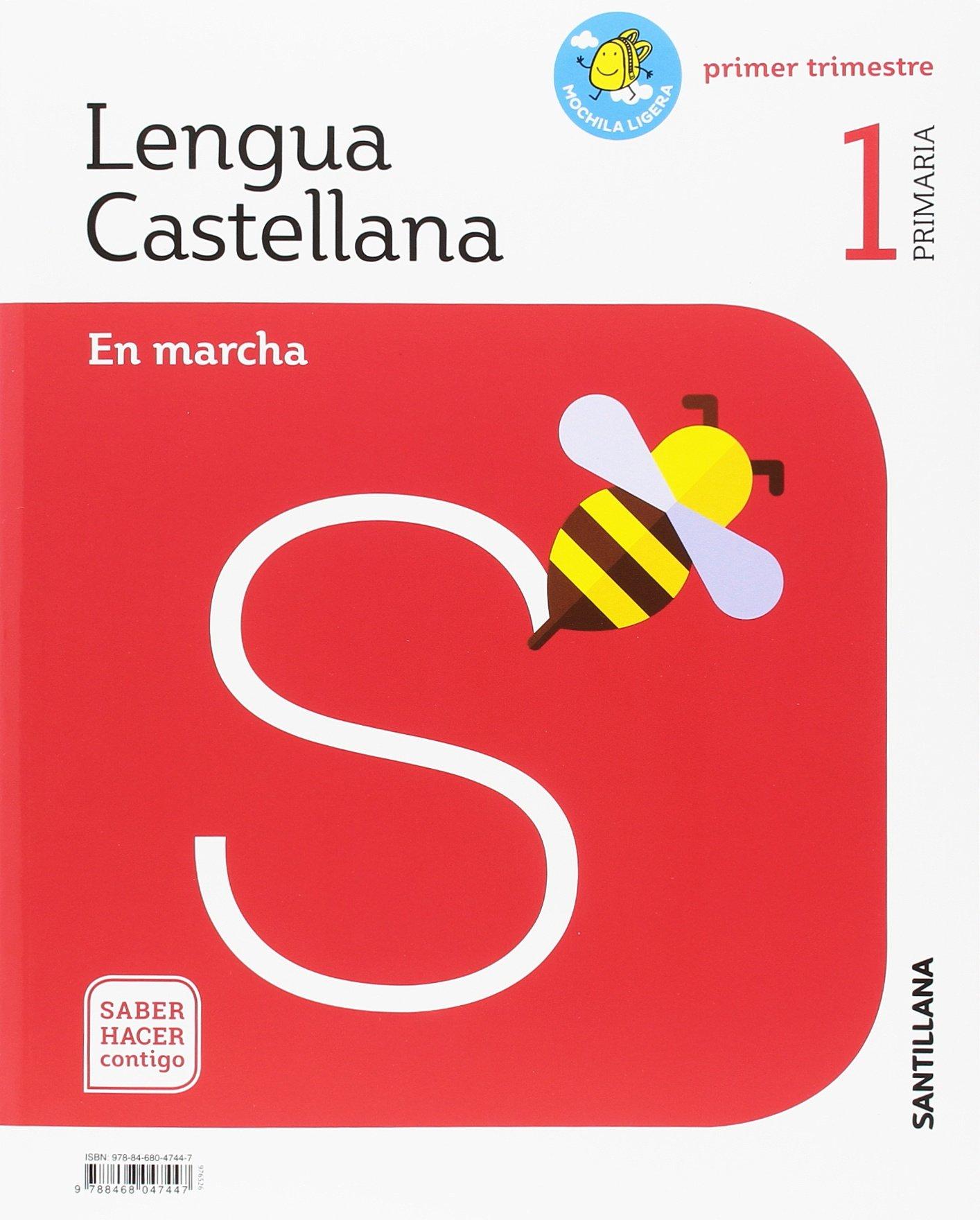 LENGUA EN MARCHA MOCHILA LIGERA1 PRIMARIA SABER HACER CONTIGO: Amazon.es:  Libros