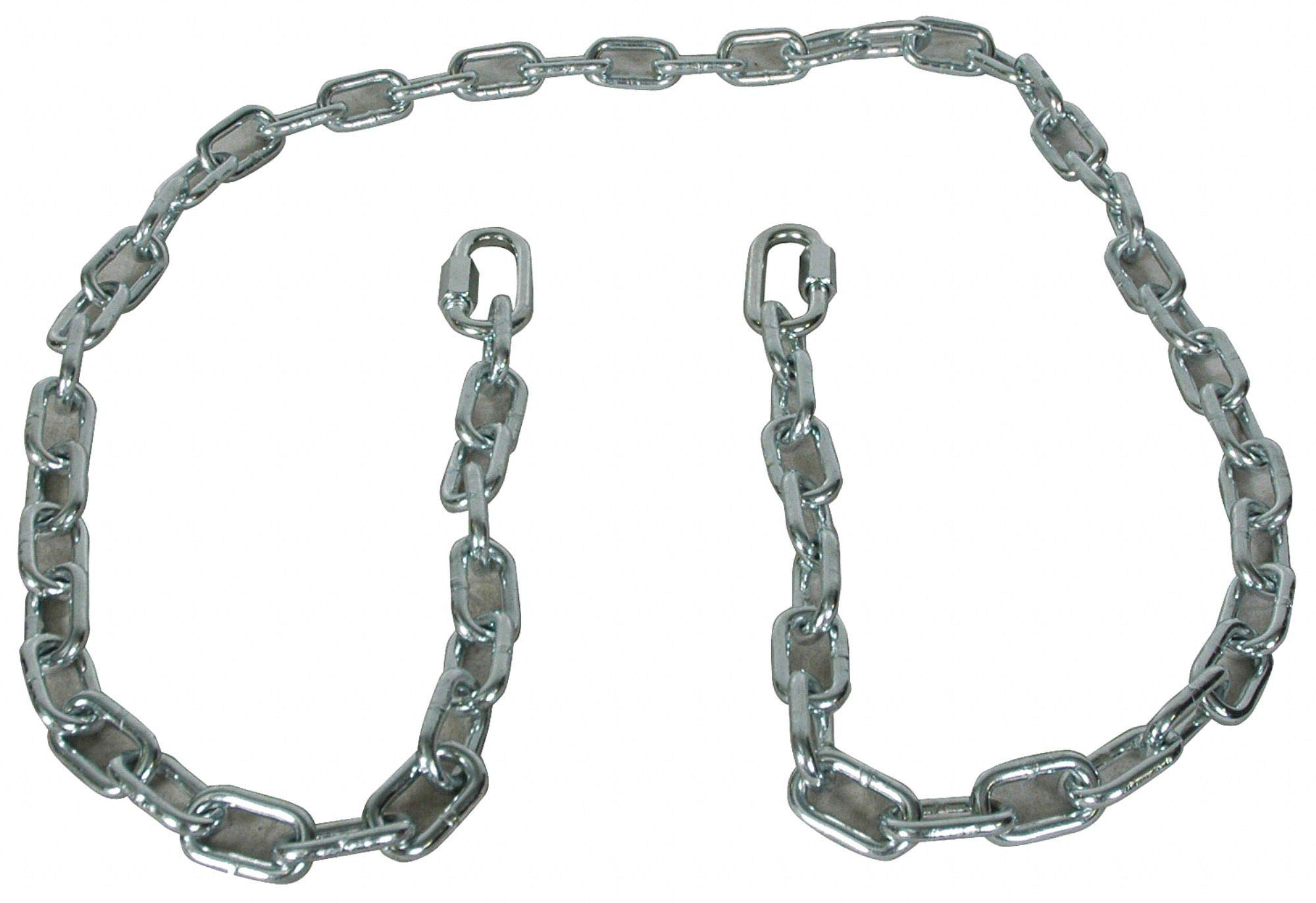Cequent Consumer Products Reese Safety Chain, 72in, Steel, Silver 72'' Silver Steel 7007800