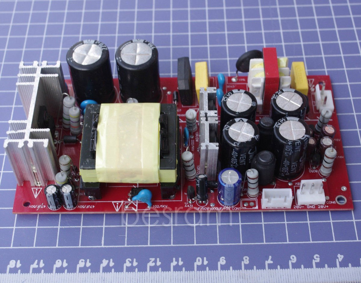 110v 220v 200w Digital Power Amplifier Supply Voltage Ac Dc 15v Smps Circuit Board View Switching Electronics