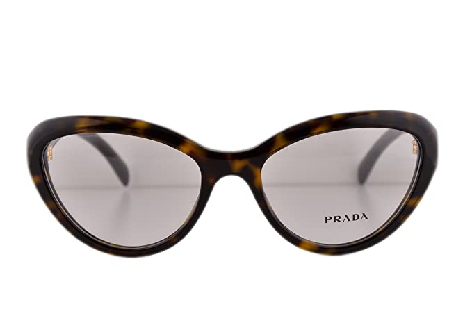 25547353399b Image Unavailable. Image not available for. Colour  Prada PR25RV Eyeglasses  52-18-140 Havana ...
