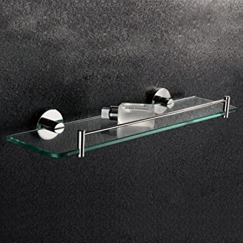 Badezimmer Regal Badezimmer-Regal-Edelstahl-Regal-Badezimmer-Glas ...