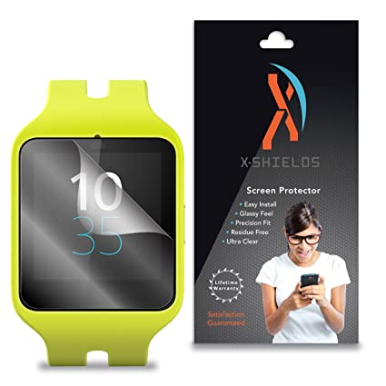 XShields (3-Pack) Screen Protectors for Sony Smartwatch 3 (Ultra Clear)