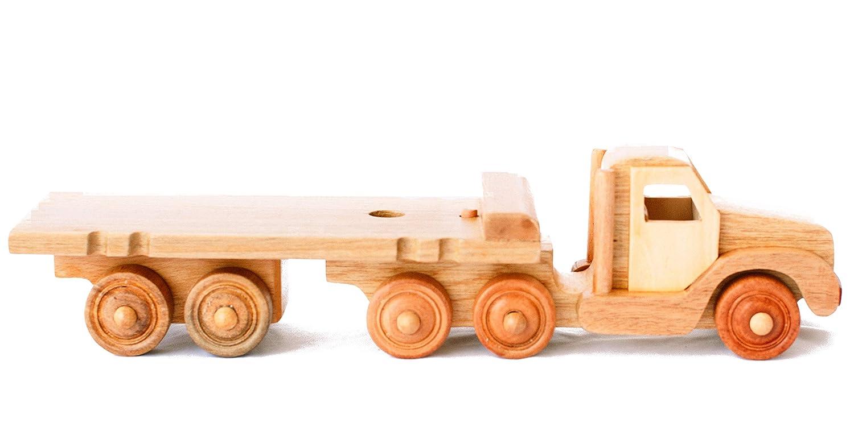Hajito 木製トラクタートラックプレイセット プッシュトイ B07NK2C8CT 木製幼児用おもちゃ Hajito B07NK2C8CT, 驚きの値段:b9a292b6 --- m2cweb.com
