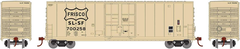Athearn N 50 Smooth High Cube Plug Door Box Frisco #700258 ATH1420