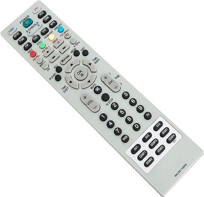 Ersatz TV Fernbedienung für LG Fernseher MKJ39170828