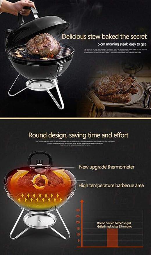 FXXJ Barbecue Grill Charbon Portable Barbecue Grill Barbecue