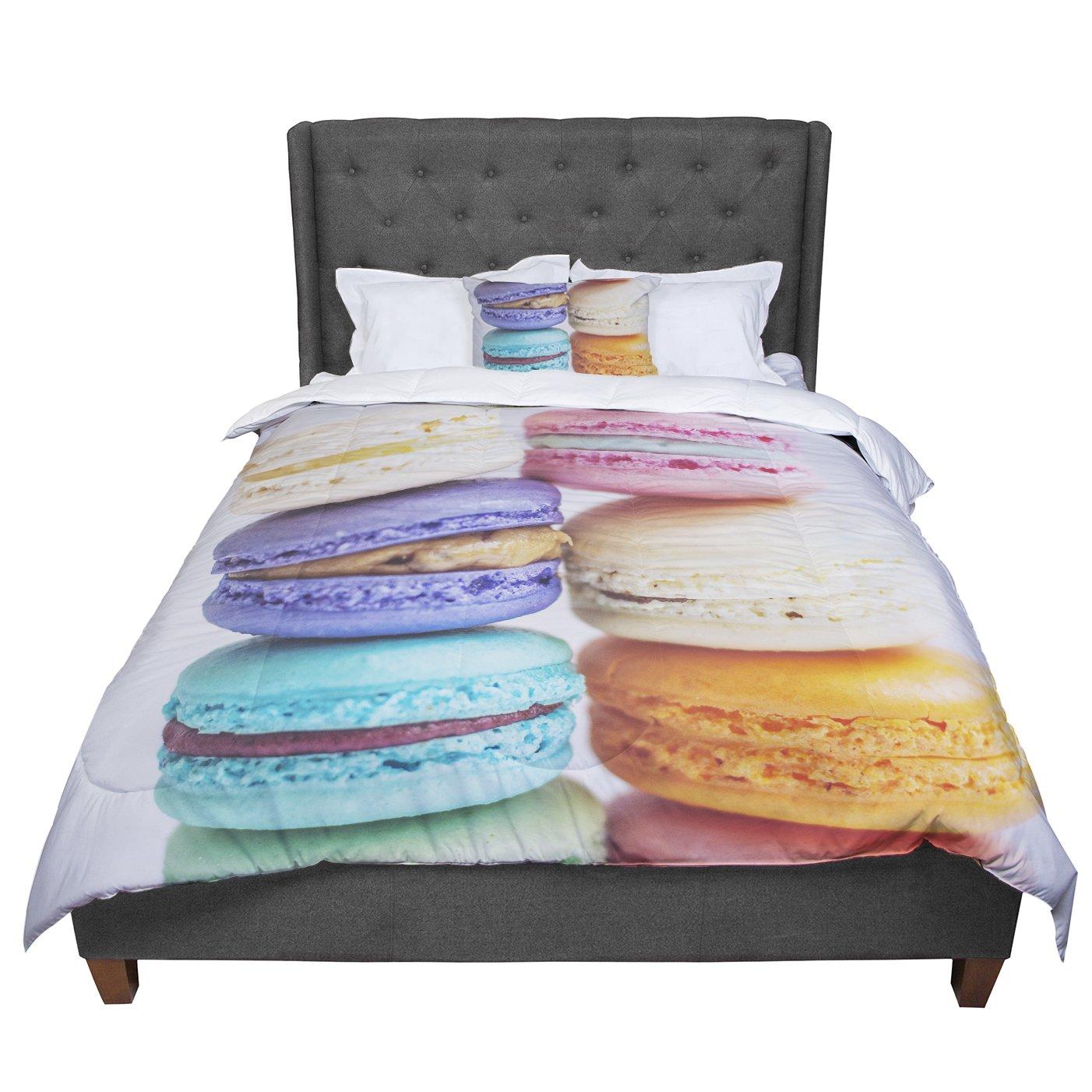 104 X 88 KESS InHouse Libertad Leal I Want Macaroons King Cal King Comforter