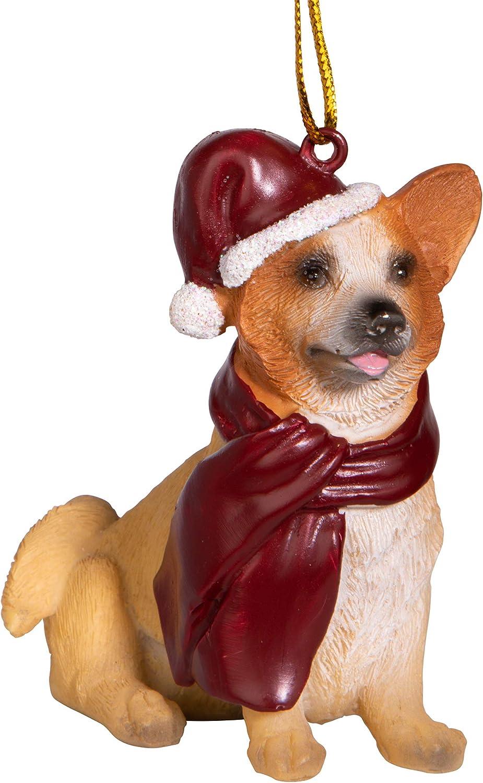 Corgi Dog Puppy Christmas Holiday Toss Throw Pillow Holiday Home Decor NEW