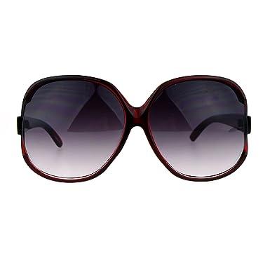 designer oversized sunglasses  Amazon.com: Womens Extra Oversized Round Designer Fashion Exposed ...