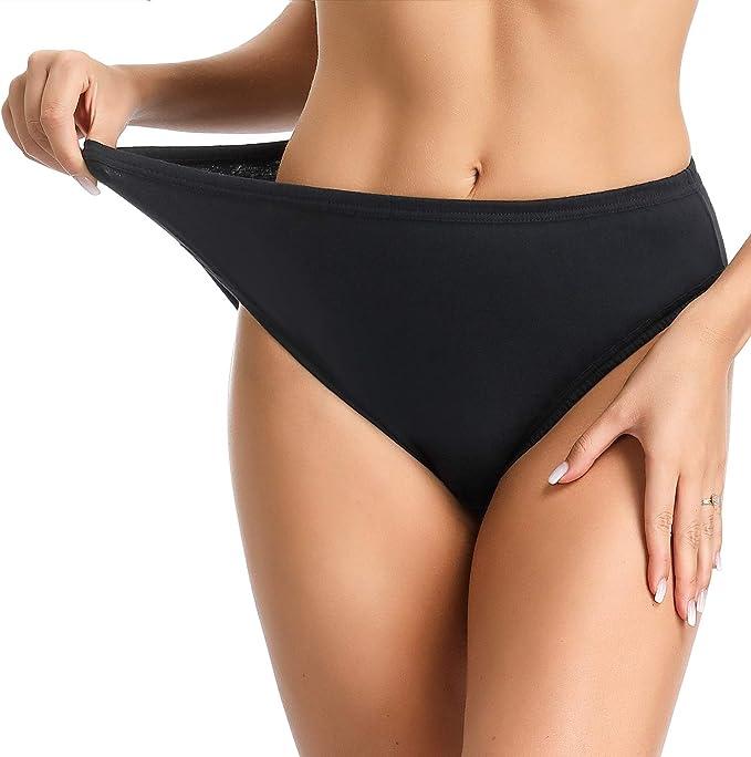 Comfort Choice Womens Plus Size Ultra Light Supersoft High-Cut Brief