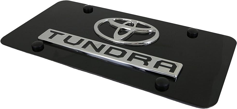 Chik yx Toyota New Tundra Logo Car Tag on Aluminum License Plate