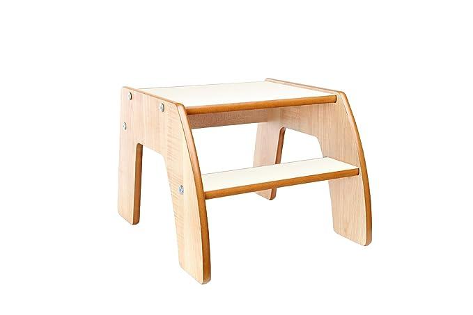 Ikea bekvam sgabello in legno beige