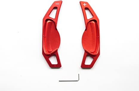 Pinalloy Lenkrad Schaltwippe Aus Metall Für 07 14 Smart Fortwo 451 Rot Auto