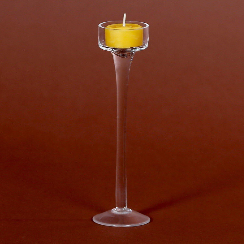 Teelichthalter Teelichtst/änder Teelicht-Kerzenst/änder Kerzenlichthalter in rund Gr/ö/ße:mittel 20cm H/öhe 45mm
