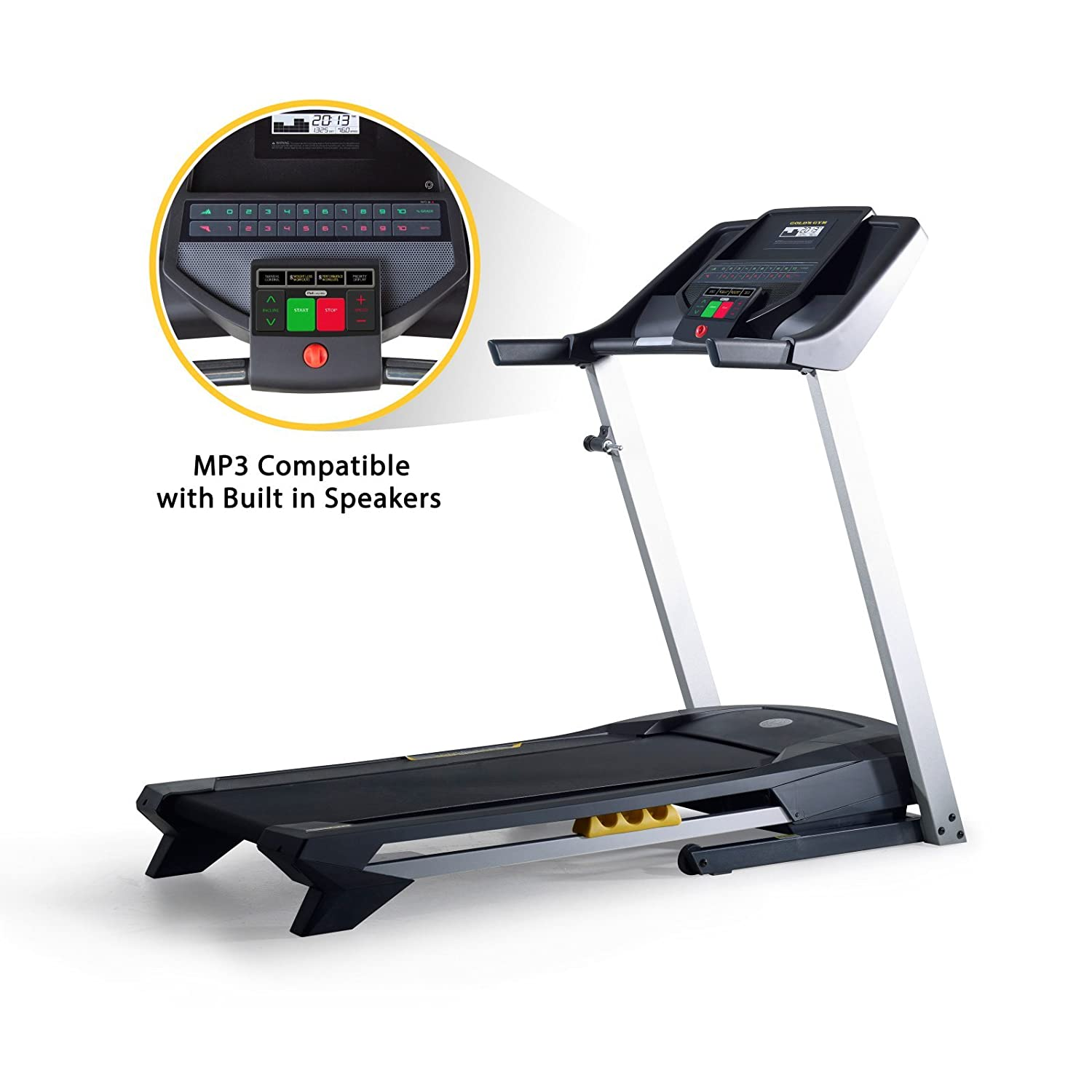 Amazon.com : Golds Gym GGTL39613 Trainer 420 Treadmill : Sports & Outdoors