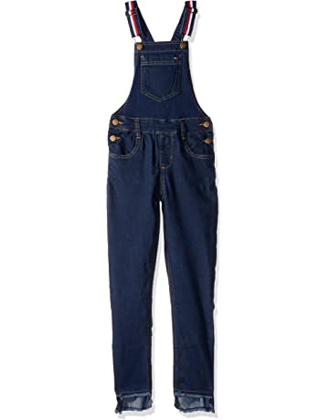 d6b0129431 Amazon.com: Tommy Hilfiger Girls' Denim Overall: Clothing