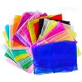 Gudotra 20pcs Pañuelos de Baile Pañuelos de Malabares Bufandas de Colores para Niños Chicas Actividades de Fiesta…