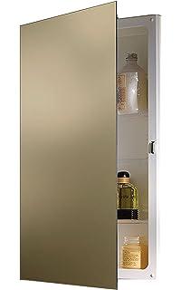 Jensen B7733X Polished Edge Mirror Medicine Cabinet, ...