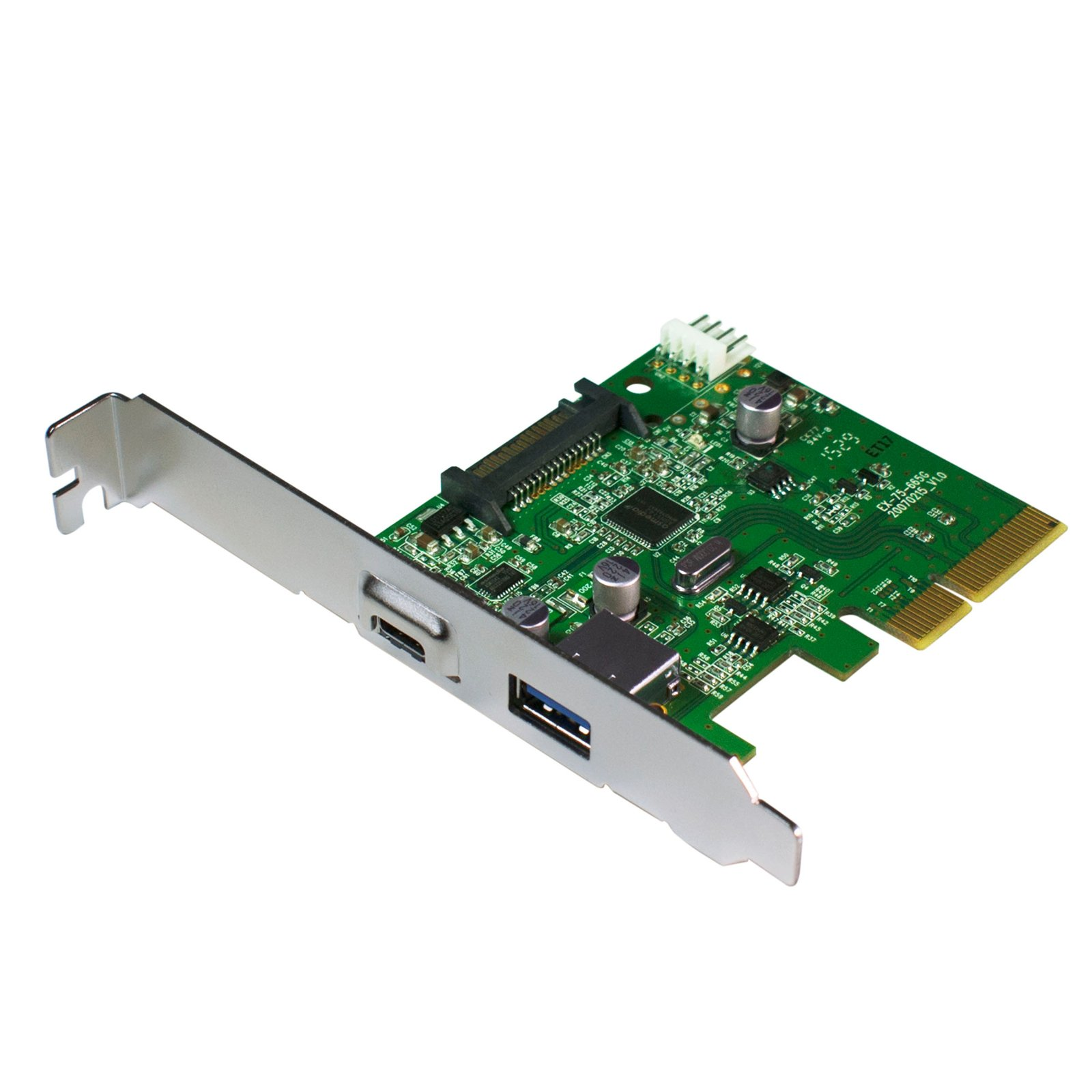 HornetTek Eagle PCIE Card to USB 3.1 Type A + Type C Ports 1