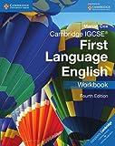 Cambridge IGCSE First Language English Workbook.