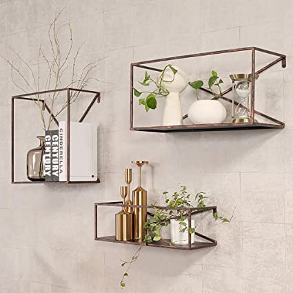 LOFT Wanddekoration Regal Eisen Industrial Style Wandbehang Regal ...