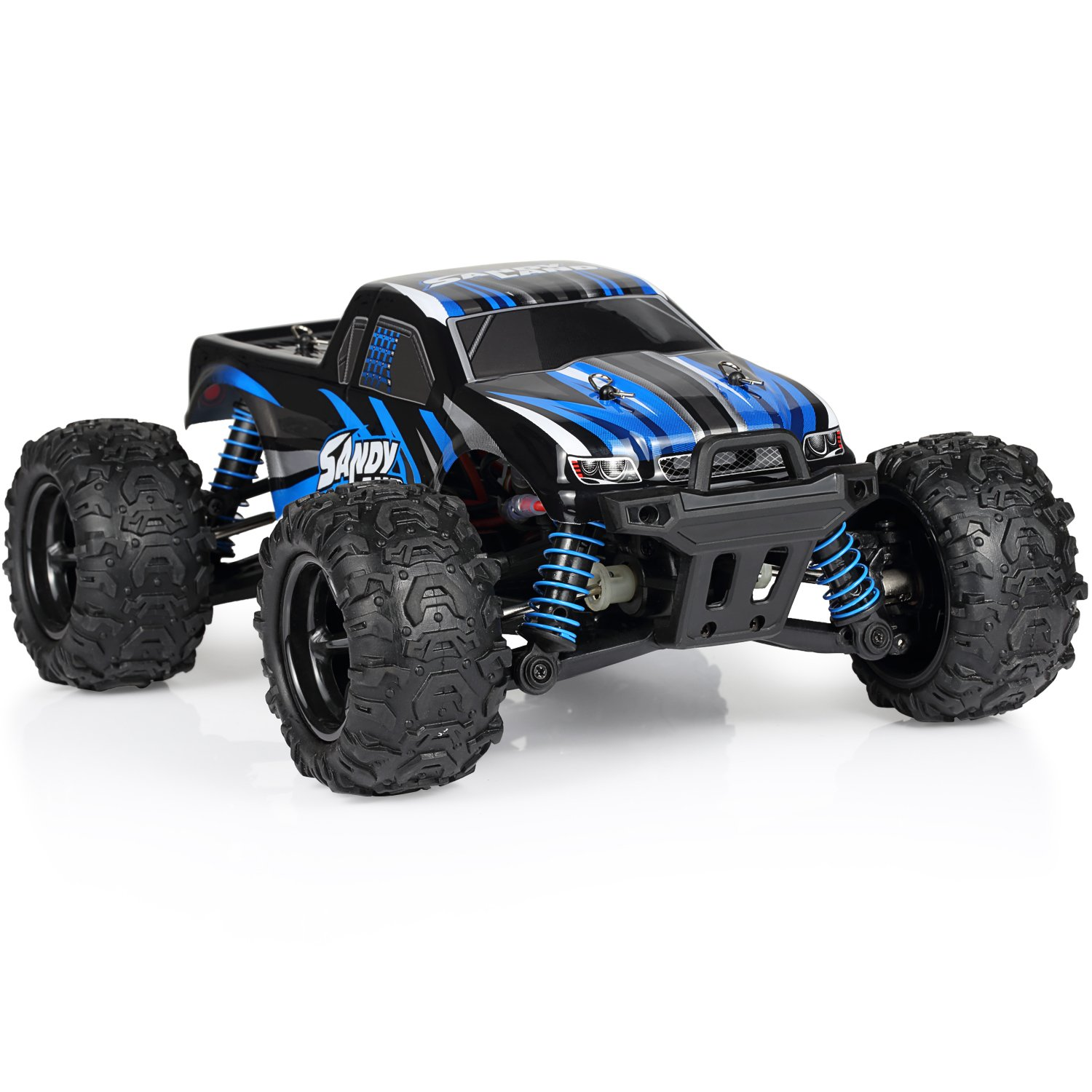 amazoncom nexgadget 118 4wd 40kmh 24ghz drifting electric remote control racing car with rechargeable battery toys games