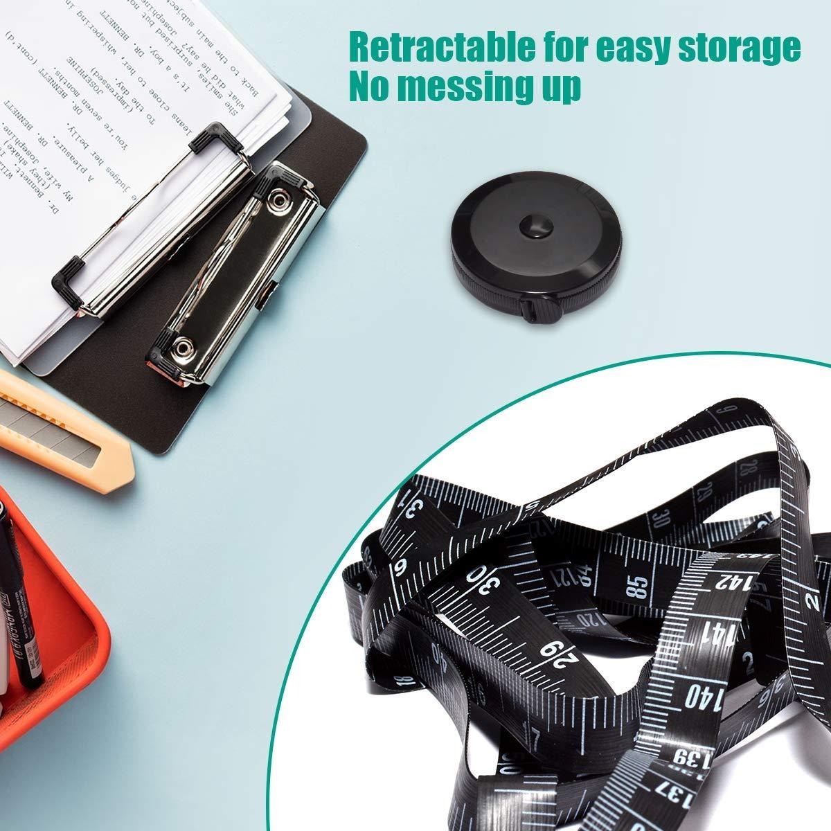 EPRHY Tape Measure for Body Measuring Tape Body Cloth Measuring Tape for Sewing Tailor Fabric Measurements Tape