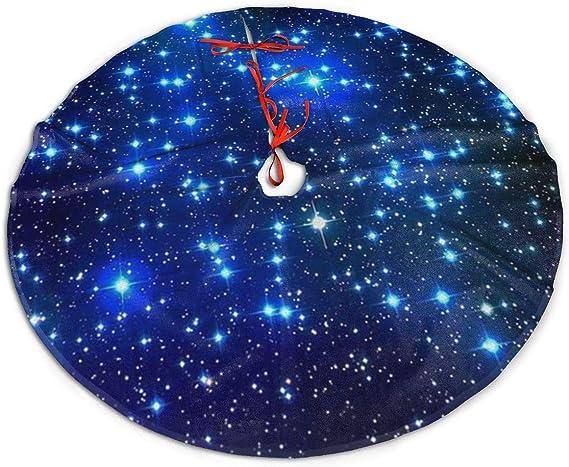 WU4FAAR - Falda para árbol de Navidad, diseño de Galaxias y ...