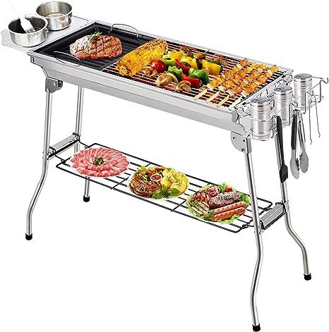Haute Qualité Portable Pliable Pliant Intérieur Barbecue À