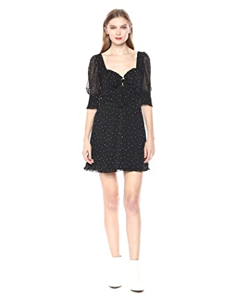 5c5eb189e74 Amazon.com  For Love   Lemons Women s Lucky Dice Mini Dress  Clothing