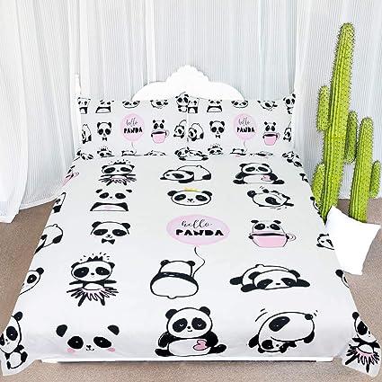 Amazon Com Arightex Panda Bear Bedding Twin Kawaii Panda Bedspread