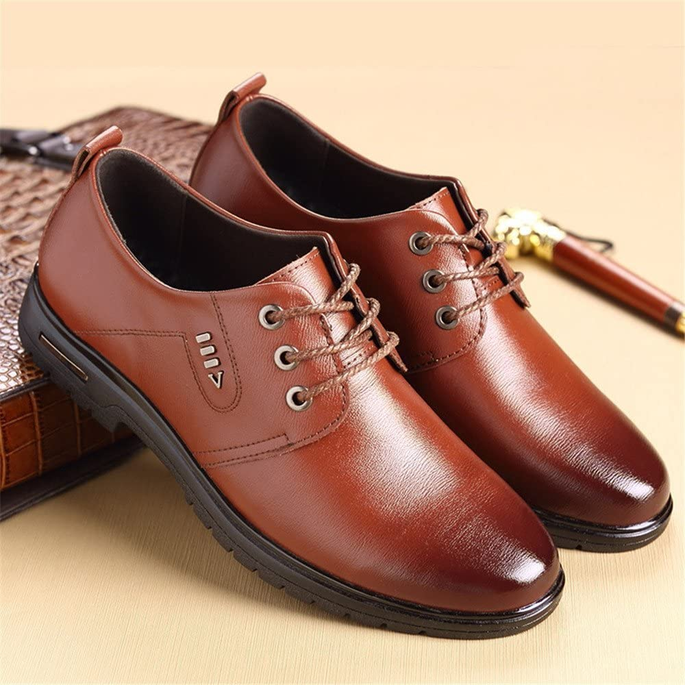 YUBUKE 2018 Casual Mens Shoes Breathable Leather Shoes Business Leather Shoes